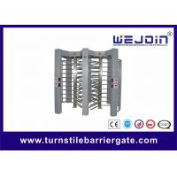 Wholesale Stainless steel Security barriers full height turnstile for access control from china suppliers