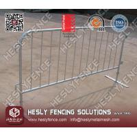 Wholesale Flat Steel Feet Crowd Control Barrier from china suppliers