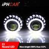 Buy cheap 2017 Hot Sale 12V 35W Dual Led Angel Eyes Light Guide Halo Rings Lens Headlight Honda/Corolla/Reiz/Tiguan from wholesalers