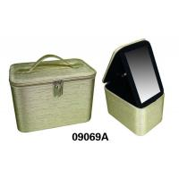 Wholesale Portable Decorative Custom Packing Boxes , PVC Leather Jewelry Box For Storage from china suppliers