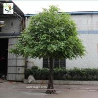 Wholesale UVG GRE040 17ft tall outdoor decorative artificial trees with fake banyan tree branch for park decoration from china suppliers