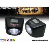 Wholesale Portable IP68 4.5ah Battery Coal Miner Hard Hat Light 4500 Lux Strong Brightness from china suppliers