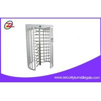 Wholesale 304 Stainless Steel 120 Degree Single Lane Automatic Full Height Turnstiles Gate from china suppliers