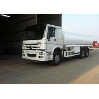 Wholesale SINOTRUK HOWO Fuel Tank Truck 20 Tons , 6X4 LHD Euro2 290HP Mobile Fuel Trucks from china suppliers