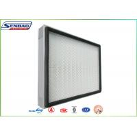 Wholesale H13 H14 Mini Pleat Panel Hepa Air Filters For Central Air Conditioning from china suppliers