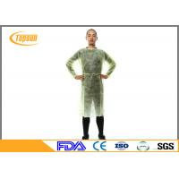 Wholesale Sterile Disposable Surgical Gowns , SMS Disposable Hospital Gowns With Knitted Cuff from china suppliers