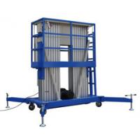 10m Double Mast Aerial Hydraulic Lift Platform with Extension Platform