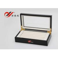 Wholesale Jewellery Storage Wooden Jewellery Box  Flannelette Inside With Cover from china suppliers