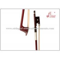 Wholesale Brazilwood Violin Bow , Parisian Eye Silver Plated Wire Grip Full Size Violin Bow from china suppliers