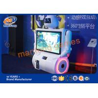 Quality Touch Screen Virtual Reality Simulator Coin Operated Body Motion Sensing Game for sale