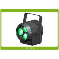 Quality 3×15w 4in1 RGBW Zoom Flower Effect Led Par Light, DMX at an affordable price for sale