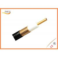 Wholesale High quality feeder telecommunication cables and telecom feeder cable 1/1/4'' 50ohm from china suppliers