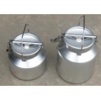 Wholesale Food Grade Store / Transport Milk Aluminum Milk Can With Handle from china suppliers