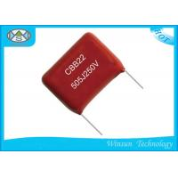 Wholesale Wide Temperature Metallized Polyester Film Capacitor 5μF / 505J 250V For Pulse from china suppliers