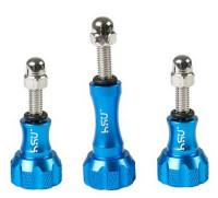 Wholesale Blue Gopro Thumb Screw Knob Stainless Steel Bolt Nut Screws HGP50B from china suppliers