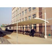 Quality Heavy Duty Steel Frame Car Canopy Tents With PVDF / PDFE Fabic Cover for sale