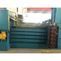 Wholesale PLC Control Horizontal Cardboard Baler For Newspaper , Plastic from china suppliers