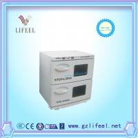 Wholesale 2 in 1 UV sterilizer & hot towel warmer cabinet  beauty equipment from china suppliers