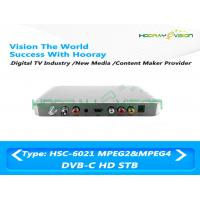 Wholesale Cardless HD DVB C Set Top Box 75 Ω with H264 HDMI Port 1080P Dolby Audio from china suppliers