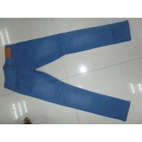 Wholesale White Stylish Mens Slim Straight Jeans , Light Blue Wide Leg Mens Jeans from china suppliers