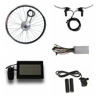Quality Eco - Friendly Push Bike Electric Motor Kit , Motor Assisted Bicycle Kit 100mm / 135mm Axle for sale