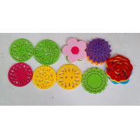 Buy cheap Customized Nonwoven Fabric Placemats And Coasters Prevent The Table From Skidding from wholesalers