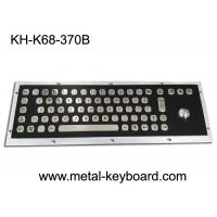 Wholesale Electroplated Black Industrial Keyboard with Trackball Stainless Steel Laser Trackball from china suppliers