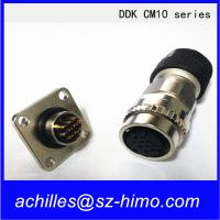 Wholesale high quality DDK CM10-SP-10S-S(D6) straight plug 10pin male and female circular connector from china suppliers