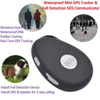 Wholesale Mini Waterproof 3G GSM Personal GPS Tracker Locator Elderly Fall Detection SOS Communicator Alzheimer Keyring EV07 from china suppliers