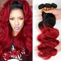 Wholesale 3 Bundles Weave Ombre Real Hair Extensions Remy Hair Last Long Time For Girl from china suppliers