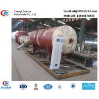 Wholesale bottom price 10tons mobile skid lpg gas station for filling gas cylinders for sale, 25CBM skid lpg gas refilling plant from china suppliers