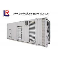 Wholesale CE Soundproof 1000kVA Diesel Container Generator Set with Electrical Starting AC 3 Phase from china suppliers