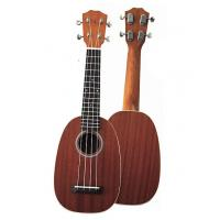 Wholesale mini 21 inch Sapele Wood Hawaii Guitar Ukulele Round Type UK668-21 from china suppliers