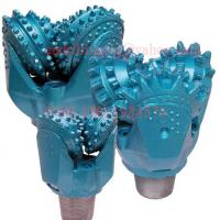 Wholesale Rotary Rock Drilling Tricone Drill Bit with Open Bearing Steel Tooth Forging Type from china suppliers