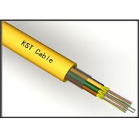 Wholesale Long Distance Single Mode Fiber Optic Cable With Double Water - Blocking System from china suppliers