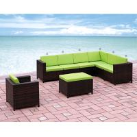 Wholesale 2014 popular outdoor rattan L shape sofa set from china suppliers