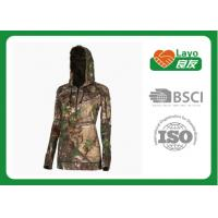 Wholesale Thermal Mossy Oak Camo Hooded Sweatshirt For Winter / Spring / Fall from china suppliers