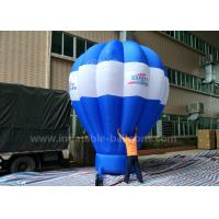 Quality 5m Tall Inflatable Advertising Ground Balloon / Hot Air Shaped Balloon For Events for sale