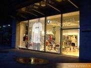 Decorative Glass Transparentor Customizable Full Color RGB LED Display Curtain Wall