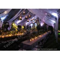 Quality Luxury and Beautiful Lightings for Luxury Wedding Tents with Aluminum Frame for sale