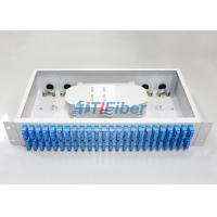 Wholesale SC Duplex 48 port Fiber Optic Patch Panel with 2U Height Box from china suppliers