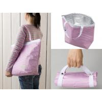Wholesale Polyester Zippered Food Thermal Bags , Cooler Lunch Bag Take Out Reusable from china suppliers