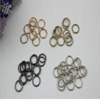 Wholesale Guangzhou factory sales bag parts and accessories gold 10 mm round metal wire iron buckles from china suppliers