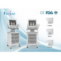 Wholesale Wholesale Price 3 heads High Intensity Focused Ultrasound HIFU face lift beauty machine from china suppliers