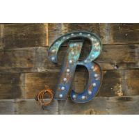 "Wholesale Large 20"" Silver Galvanized Marquee Letter Lights for Christmas / Wedding Decoration from china suppliers"