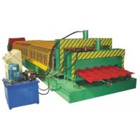 Wholesale PLC Control Metal Roof Tile Making Machine Thickness 0.3 - 0.8mm from china suppliers