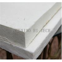 Wholesale High Temperature Heat Insulation Ceramic Fiber Board For Wood Stove 10 - 50mm Thick from china suppliers