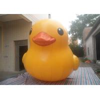 Wholesale Weather - Resistant Interesting Inflatable Yellow Duck Air Tight / Sealed With Logo Printing from china suppliers