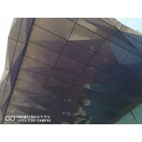 Wholesale 3D Shape 4mm Thickness Aluminum Composite Panels For Shading Spectra Color from china suppliers