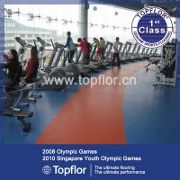 Wholesale PVC Sports Flooring for Gym Fitness Equipment Flooring from china suppliers